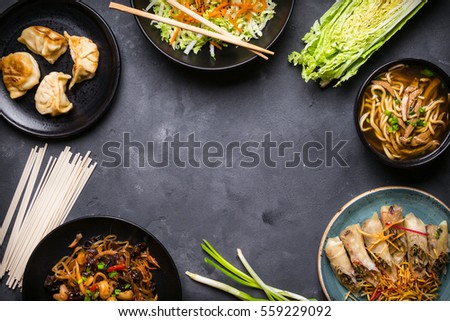 chinese food background - photo #36