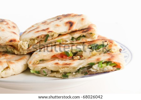 Chinese Food Often Wrapped In Pancakes