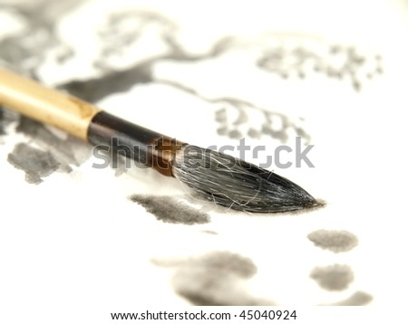 Chinese Ink Brush