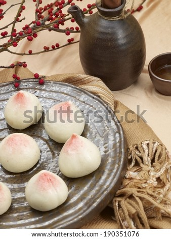 Chinese longevity buns