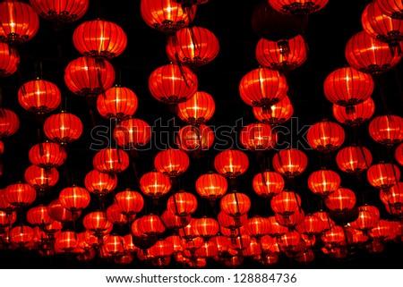 Chinese New Year in Chinatown Thailand - stock photo