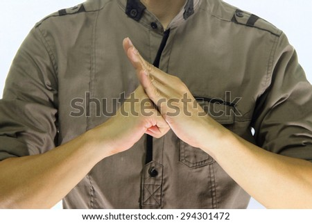 Chinese salute greetings sing chinese martial stock photo royalty chinese salute greetings sing a chinese martial arts greeting features m4hsunfo