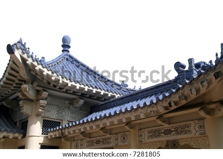 Chinese Style Roof Structure
