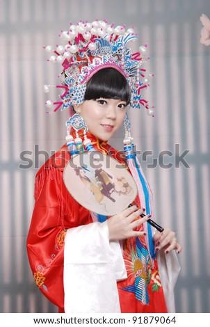 Chinese tradition wedding - stock photo