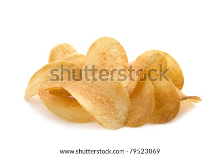 chip on a white background