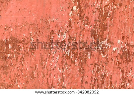chipped paint rusty textured metal background - stock photo