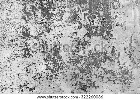 chipped paint textured metal background - stock photo
