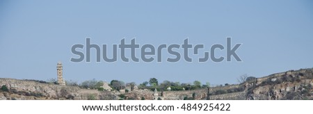 Chittorgarh Fort is a massive and majestic fort situated on a hill