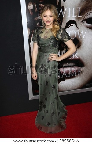 "Chloe Grace Moretz at the ""Carrie"" Los Angeles Premiere, Arclight, Hollywood, CA 10-07-13"