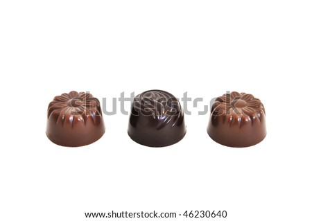choclates - stock photo