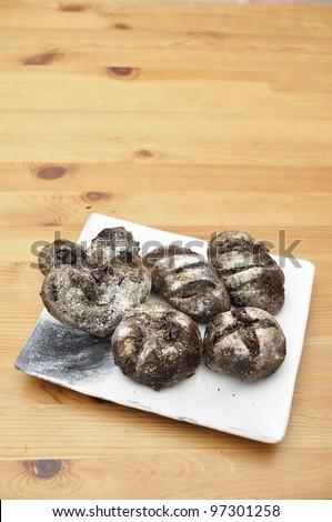 Chocolate Bread - stock photo