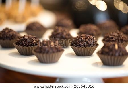 Chocolate Brigadier - stock photo