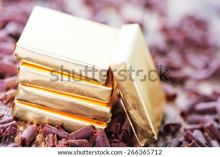 chocolate candy - stock photo
