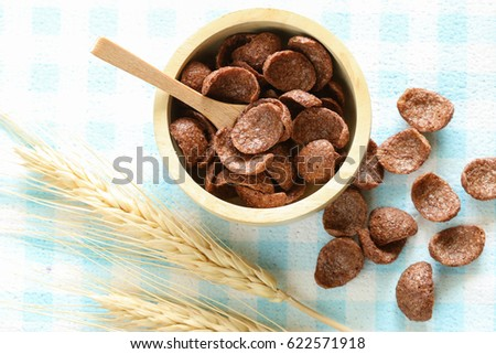 Chocolate cereal very quick meal make stock photo edit now chocolate cereal its very quick meal to make an easy breakfast ccuart Choice Image