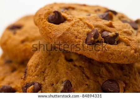 Chocolate Chip Cookies 7 - stock photo