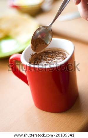 Chocolate drink - stock photo