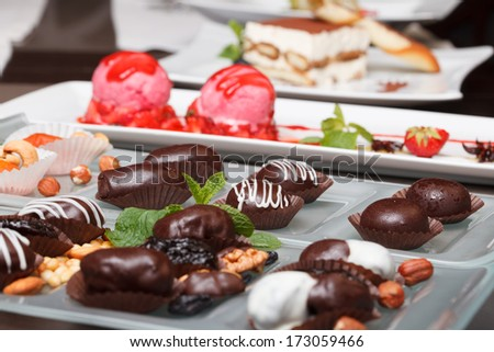 Chocolate gathering