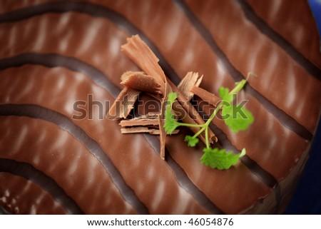 Chocolate glaze - stock photo