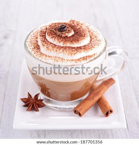 chocolate or coffee - stock photo