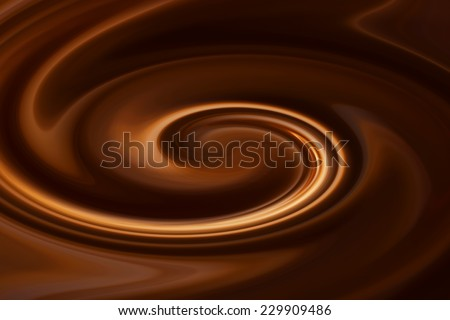 Chocolate swirl background.