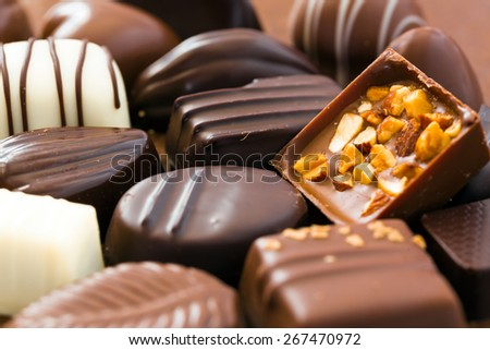 Chocolates - stock photo