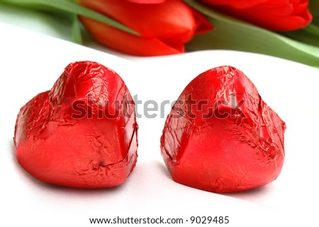 Chocolates for Valentine day