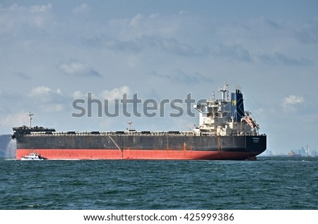 chonburi,Thailand. MAY 6:2016.Cargo ship at Koh  Sichang  Port, Chonburi, Thailand.