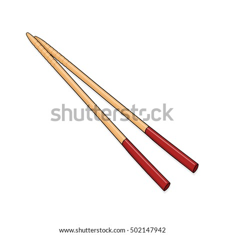 Chopsticks illustration
