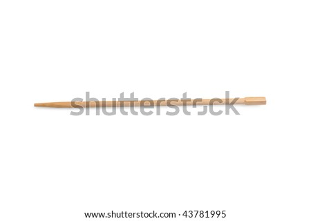 chopsticks  isolated on a white background