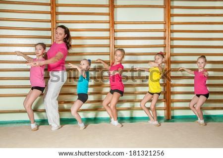 Choreography - stock photo