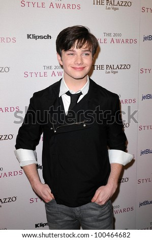 Chris Colfer at the 2010 Hollywood Style Awards, Hammer Museum, Westwood, CA. 12-12-10