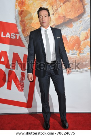 "Chris Klein at the US premiere of his new movie ""American Reunion"" at Grauman's Chinese Theatre, Hollywood. March 19, 2012  Los Angeles, CA Picture: Paul Smith / Featureflash"