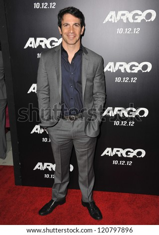 "Chris Messina at the Los Angeles premiere of his movie ""Argo"" at the Samuel Goldwyn Theatre, Beverly Hills. October 4, 2012  Beverly Hills, CA Picture: Paul Smith - stock photo"
