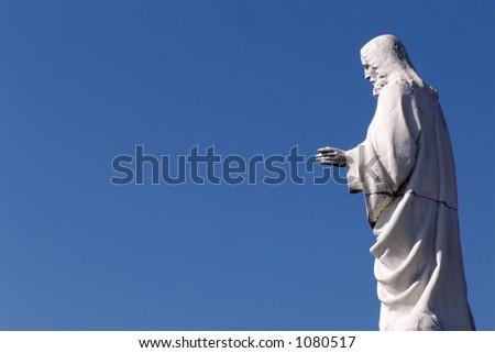 christ - stock photo
