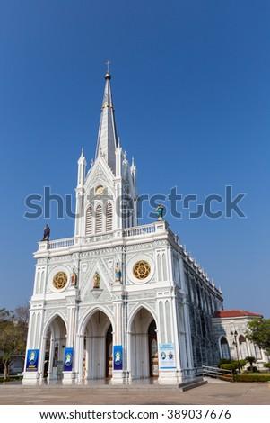 Christ Church in Thailand  - stock photo
