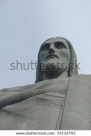 Christ statue in Corcovado Christ statue in Corcovado, in Rio de Janeiro, Brazil - stock photo