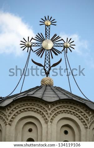 Christian Church Cross - stock photo