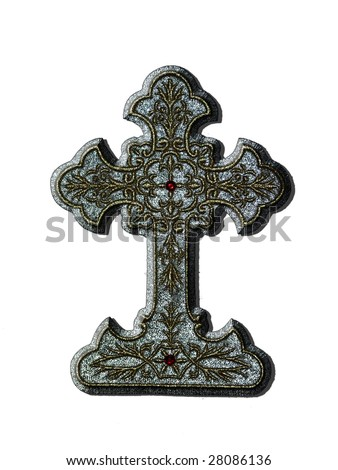 Christian Cross for different uses - stock photo