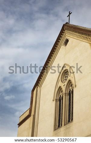 Christian Temple - stock photo