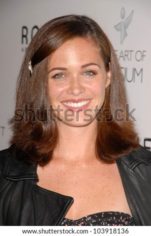 Christine Woods at Art Of Elysium's 'Genesis' Event. HD Buttercup, Los Angeles, CA. 10-10-09