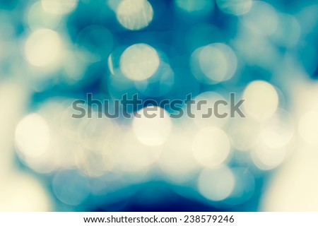 Christmas and Happy New Year background. Festive abstract background with bokeh de focus lights - stock photo