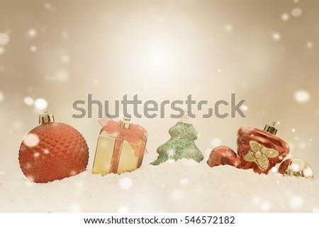 Christmas and Happy new year 2017,Gift boxes and colorful decorated Christmas tree on white bokeh background,with copy space