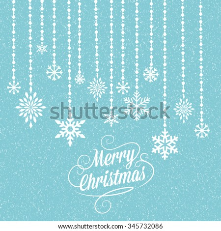 Christmas and new year wish card  - stock photo