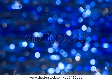 Christmas background. Abstract background with bokeh defocused lights.