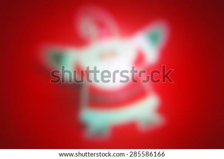 Christmas background bright abstract, soft blur - stock photo