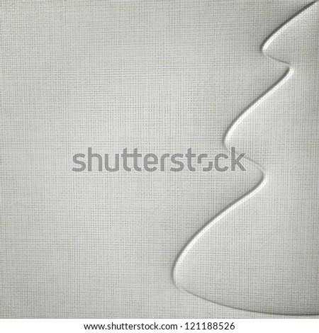 Christmas background,   canvas - stock photo