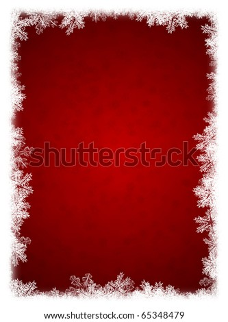 Christmas background. Elements of a snow, snowflakes, an ice - stock photo