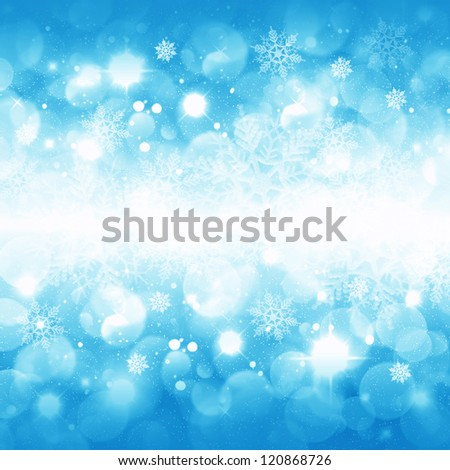 Christmas background for congratulation cards and design - stock photo