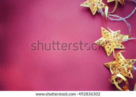 Christmas background, Greeting card
