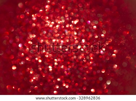 Christmas Background. Holiday Abstract Glitter Defocused Background With Blinking Stars. Blurred Bokeh - stock photo